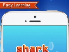 Learning english vocabulary reading and listening for kids for sea animals 1.1.0 Screenshot