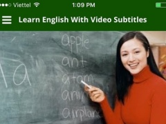 Learning English with Conversation Video Subtitles 1.0.1 Screenshot