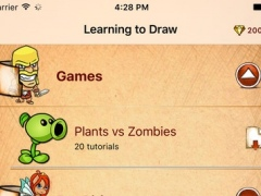 Learning To Draw Plants vs Zombie editioт 1.0 Screenshot