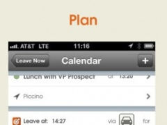 Leave Now - A smart calendar assistant keeps you on time 1.5.12 Screenshot