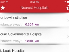 Lebanon Emergency & Hospital Locator 2.0 Screenshot