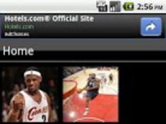 LeBron James Fan App 1.0 Screenshot