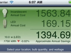 LED Light Bulb Savings Calculator 1.5.0 Screenshot