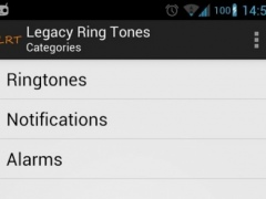 Legacy Ring Tones 1.15.736 Screenshot