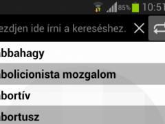 Legal dictionary (ENG-HUN) 1.0.0 Screenshot