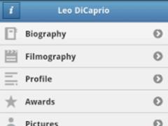 Leonardo DiCaprio Fan 1.0.2 Screenshot