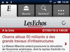 Les Echos 1.2 Screenshot