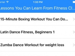 Lessons You Can Learn From Fitness Classes 1.0 Screenshot