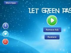 Let Green Pass - pass green circle through laeser bar 1.0.8 Screenshot