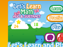 Let's Learn Math Add&Subtract 1.3.0 Screenshot