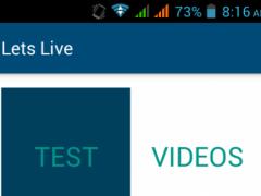 Lets Live 1.0 Screenshot