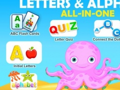 Letter Quiz School Reading, Spelling and Tracing Educational Program. ▫ Learning Games with Learn to Read Flash Cards, Endless Puzzle & TeachMe Alphabet Song for Kids Hooked on Letters in Preschool, Kindergarten and 1st Grade Children by Abby Monkey® 1.4 Screenshot