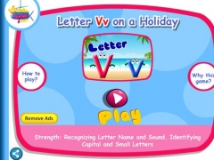 Letter Vv on a Holiday 1.0 Screenshot