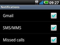 LG 2X/Black Notifications 0.9.3.3 Screenshot