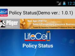 LIC ONLINE POLICY STATUS PFIGE 1.3.7 Screenshot