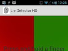Lie Detector HD, Polygraph HD 1.1.0 Screenshot