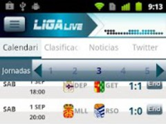Liga Live 3.1.3 Screenshot