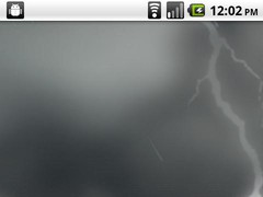 Lightning Storm LWP 1.2 Screenshot