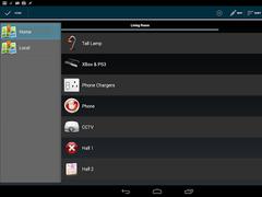 Lightwaver for LightwaveRF™ (Discontinued) 3.9.1 Screenshot