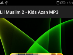 Lil Muslim 2 - Kids Azan MP3 1.0 Screenshot