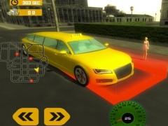 Limo Simulator 2017 City Drive. 3D Limousine Taxi 1.0 Screenshot