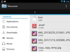 Discoverer(Linda File Manager) 2.0b Screenshot