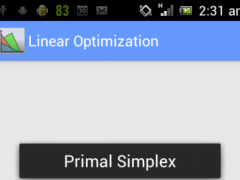 Linear Optimization Pro 1.5 Screenshot