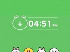 Linefriends LINE Launchertheme 4.1 Screenshot