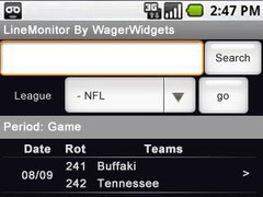 LineMonitor - Compare Odds 1.0 Screenshot