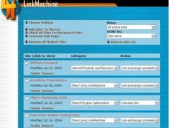 LinkMachine 1.25 Screenshot