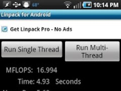 Linpack for Android 1.2.8 Screenshot