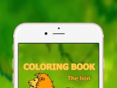 lion coloring book 1.0 Screenshot
