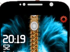 Lion Lock Screen Zipper HD 1.2 Screenshot