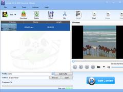Lionsea AVI To WMV Converter Ultimate 4.9.5 Screenshot
