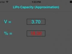 LiPoCalc 1.8 Screenshot