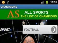 List of winners-champions 1.14 Screenshot