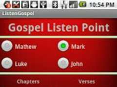 Listen & Read Bible Gospels 1.6 Screenshot