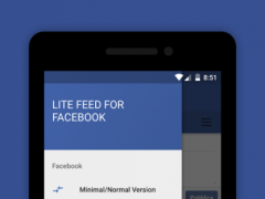 Lite Feed for Facebook (FAST) 1.2.4 Screenshot