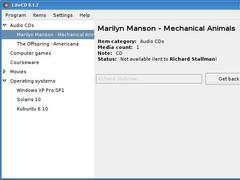 LiteCD 0.2.0b Screenshot