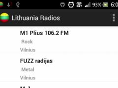Lithuania Radios 3.0 Screenshot