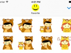 Little Boy and Girl > Stickers Pack 1.0 Screenshot