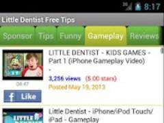 Little Dentist Free Tips 1.01 Screenshot