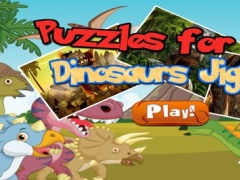 Little Dinosaur Jigsaw Puzzle Boards For Adults 2.0 Screenshot