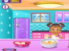 Little Girl Chef : Shopping & Cook Herself 1.0.0 Screenshot