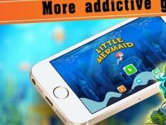Little Mermaid Adventure Fun on deep sea world 1.0 Screenshot