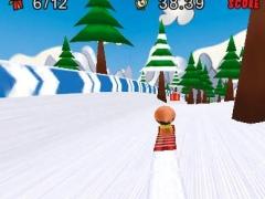 Little Red Sled - 3D Racing 1.3 Screenshot