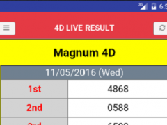 Live 4D Result (MY & SG) 2 0 8 Free Download