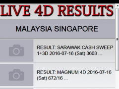 Malaysian Result 4d