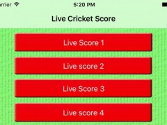Live Cricket Score and News Update 1.0 Screenshot