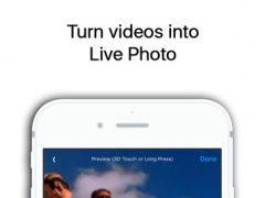 Live Maker for Live Photo - convert videos from camera roll to animated live wallpapers for iPhone 6s and 6s Plus 1.5 Screenshot